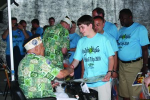 Meeting Pearl Harbor Survivors